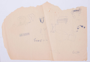 PAUL CASTELLON: A GROUP OF EIGHT SKETCHES