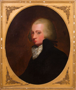 AMERICAN SCHOOL: PORTRAIT OF A GENTLEMAN