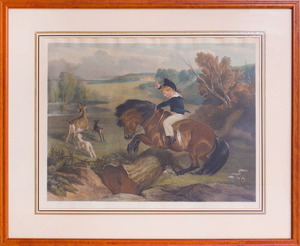 AFTER SIR EDWIN LANDSEER (1802-1873): THE FIRST LEAP; AND THE YOUNG MOUNTAINEER
