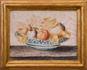 American School: Fruit Still Lifes: A Pair