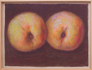 FRANCIS MCDONALD (b. 1945): WHITE PEACHES