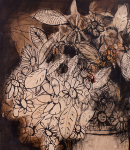 ANDRES SEGOVIA (1929-1996): STILL LIFE WITH FLOWERS