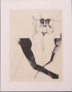 MICHAEL MAZUR (1935-2009): HANDS, PILLOWS, LEGS