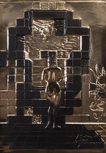 SALVADOR DALI (1904-1989): LINCOLN IN DALIVISION