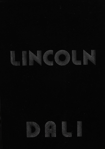 SALVADOR DALI (1904-1989): LINCOLN IN DALIVISION