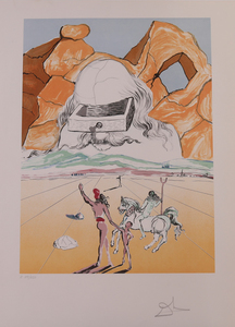 SALVADOR DALI (1904-1989): THE PATH OF WISDOM (THE BANKER), FROM THE RETROSPECTIVE SUITE