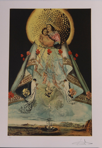 Salvador Dali (1904-1989): The Virgin of Guadalupe : Three Plates