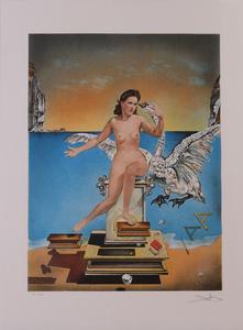 SALVADOR DALI (1904-1989): LEDA ATOMICA