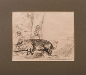 AFTER REMBRANDT VAN RIJN (1606-1669): THE HOG