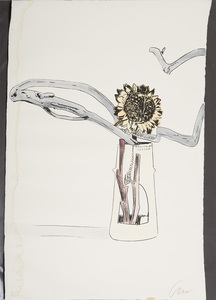 ANDY WARHOL (1928-1987): FLOWER, FROM FLOWERS (HAND-COLORED)
