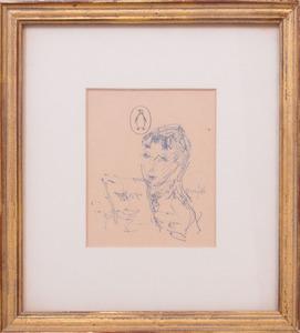 DIETZ EDZARD (1893-1963): JEUNES FEMMES; AND JEUNES FEMMES