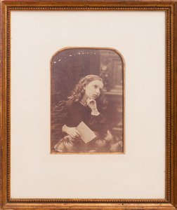 19TH/20TH CENTURY SCHOOL: GIRL WITH A BOOK