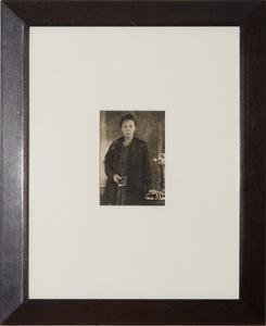 JAMES VAN DER ZEE (1885-1983): PORTRAIT OF A WOMAN HOLDING A BOOK