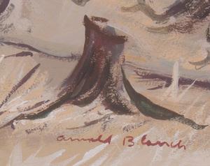 ARNOLD BLANCH (1896-1968): MOUNTAIN LANDSCAPE