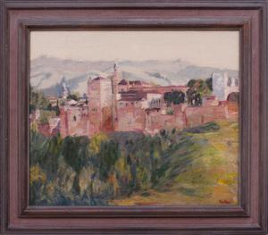 MAX KUEHNE (1880-1968): THE ALHAMBRA