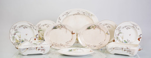 ENGLISH TRANSFER-PRINTED AND ENRICHED POTTERY PART SERVICE