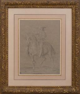EUROPEAN SCHOOL: HORSE AND RIDER