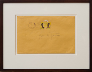 SAUL STEINBERG (1914-1999): UNTITLED (YYN AND TORSTEN)