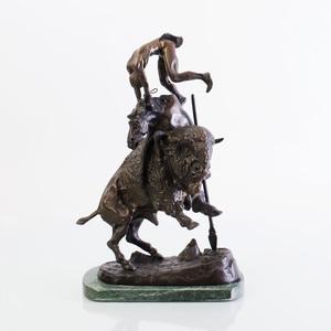 After Frederic Remington (1861-1909): Buffalo Horse