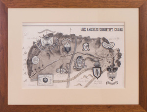 20TH CENTURY SCHOOL: LOS ANGELES COUNTRY CLUBS