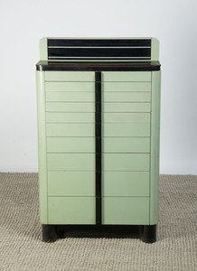 AMERICAN CABINET CO. ENAMELED WOOD MEDICAL CABINET