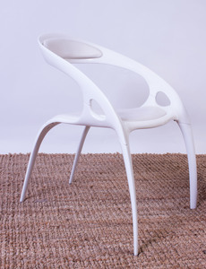 ROSS LOVEGROVE LACQUERED METAL 'GO' CHAIRS FOR BERNHARDT DESIGN