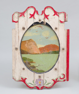 American Painted Carousel Panel