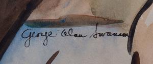 GEORGE ALAN SWANSON (1908-1962): L'APRÈS MIDI D'UN FAUNE