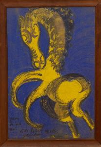 JESUS CHUCHO REYES (1882-1977): FIVE HORSES