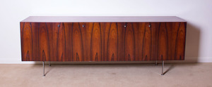 POUL NØRREKLIT ROSEWOOD CREDENZA FOR GEORG PETERSENS