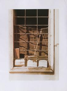 20TH CENTURY SCHOOL: GREEK WINDOW
