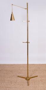 ARREDOLUCE BRASS EASEL LAMP