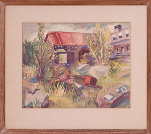 EMILY BARTO (1896-1968): OLD STONE-SHED, NEW HAMPSHIRE