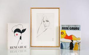 RENÉ GRUAU (1909-2004): PORTRAIT