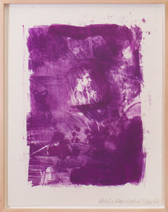 ROBERT RAUSCHENBERG (1925-2008): FLOWER RE-RUN, FROM REELS B+C