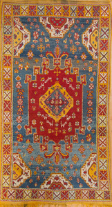 MOROCCAN SMALL MEDALLION RUG