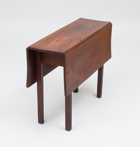 Federal Mahogany Drop-Leaf Table, New England