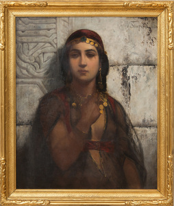 VINCENT STIEPEVICH (1841-1910): A GYPSY GIRL