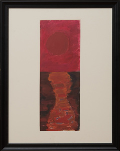SALLY MICHEL (1902-2003): ROSY SUN, ROSY SKY