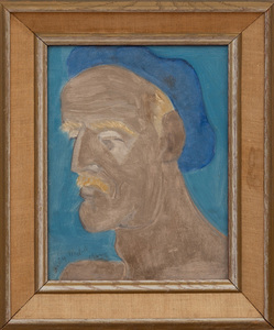 SALLY MICHEL (1902-2003): ARTIST IN BLUE BERET