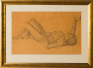 ATTRIBUTED TO DIEGO RIVERA: SKETCH FOR MADURACION