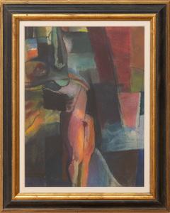 ARTHUR B. CARLES (1882-1952): ABSTRACT COLOR BLOCK