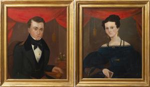 American School: A Pair of Portraits