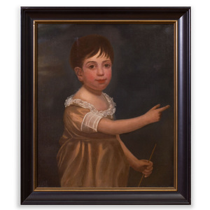 American School: Portrait of a Young Boy