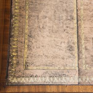 GEORGE III MAHOGANY PARTNERS WRITING TABLE