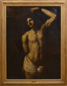 After Jusepe de Ribera (1591-1654): Saint Sebastian