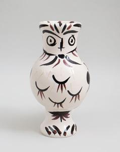 PABLO PICASSO (1881-1973): CHOUETTE AUX PLUMES