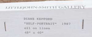 DIANE KEPFORD: SELF-PORTRAIT