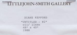 DIANE KEPFORD: UNTITLED #2