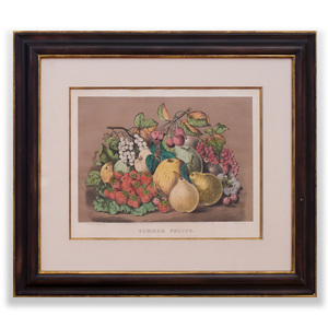 Currier & Ives, Publishers: Summer Fruits and Autumn Fruits